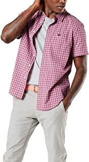 Men's Short Sleeve Button-Down Modern Fit Supreme Flex Poplin Shirt