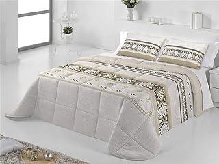 Tejidos JVR - Conforter Nórdico Maya - Cama 135 Cm - Color Beig