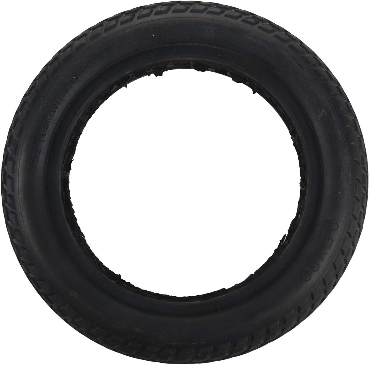 Tashido Damping - Scooter Hollow Solid Tyre para Mijia M365 Skateboard Scooter Tire 8,5 pulgadas Tyre Wheel neumático de goma no neumático para scooter
