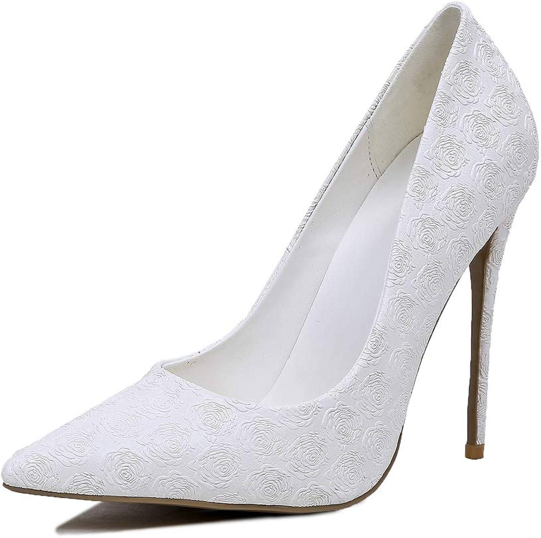 Damenschuhe Pumps Spitz Stilettos Sexy High Heel MWOOOK-A02 Klassische Party Freizeit Hochzeit Abendschuhe