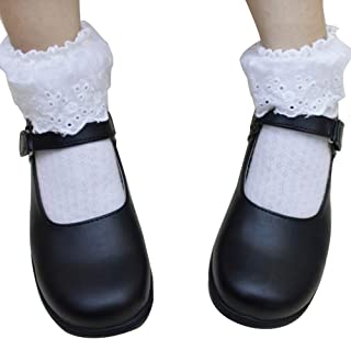 Anime School Girls Lolita Uniform K-on Shoes Daily Use