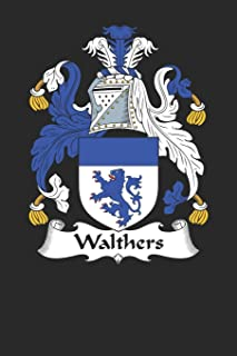 Walthers: Walthers Coat of Arms and Family Crest Notebook Journal (6 x 9 - 100 pages)
