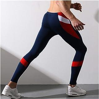LLTT Men's Tight Legging Pants Warm Trousers Pants Render Underpants Man Fine Thermal Underwear Of Winter Elasticity (Colo...