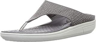 BATA Women's Blossom Thong Grey Slippers-6 (5712988)