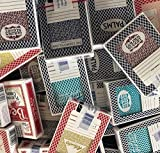 JUSTMIKEO 4 Random Las Vegas Casino Used Playing Cards Deck