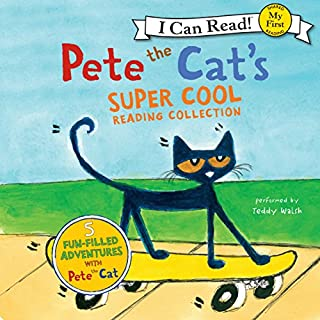 Pete the Cat's Super Cool Reading Collection cover art