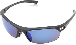 Under Armour Zone 2.0 Sunglasses,  Black / Gray Lens,  64 mm