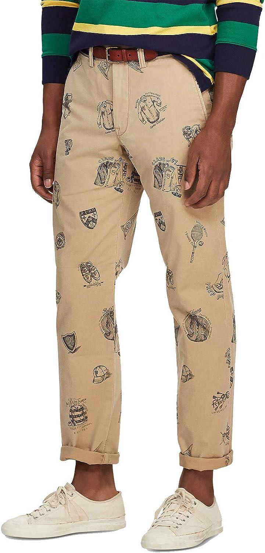 Ralph Lauren Men's Stretch Straight-Fit Bedford Chino Pants (36 X 34)
