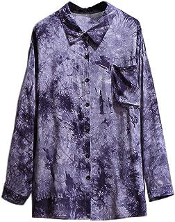 Women's Long Sleeve Casual Shirts Women's Shirts Sun Protection Fashion Long Sleeve Casual Loose Women's Oversized Long Shirts