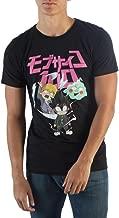 Bioworld Mob Psycho 100 Shirt Men's Group Ghost & Chibi T-Shirt