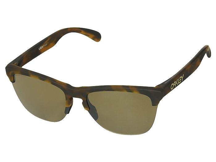 Oakley Frogskins Lite (Matte Brown Tortoise/Prizm Tungsten) Sport Sunglasses