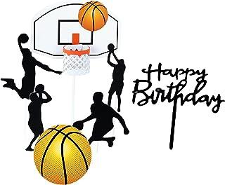 Fyfjur Tortendeko geburtstag, Tortentopper, Kuchendeko, Kuchenstecker, Party Kindergeburtstag   Happy Birthday zum Geburtstag Cake Topper Geburtstag Party Deko Schwarz