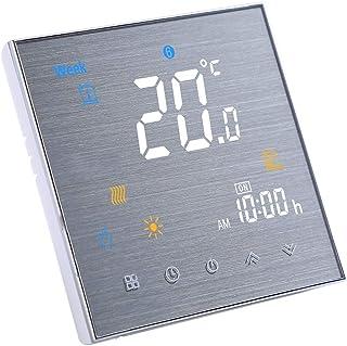 Decdeal Termostato Inteligente con WiFi para calefacción del Agua y con Control por Voz, Compatible con Amazon Echo/Google...