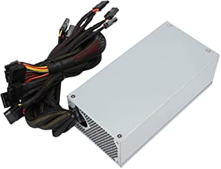 ASHATA PCI-E 17x 6pin 12V Mining Server Power Supply Adapter Converter Board with LED Display,Used to Miner Graphics Card Power Supply,for DPS-1200FB A//DPS-1200QB A//PS-2751-5Q// PS-2751-LF-1F,etc
