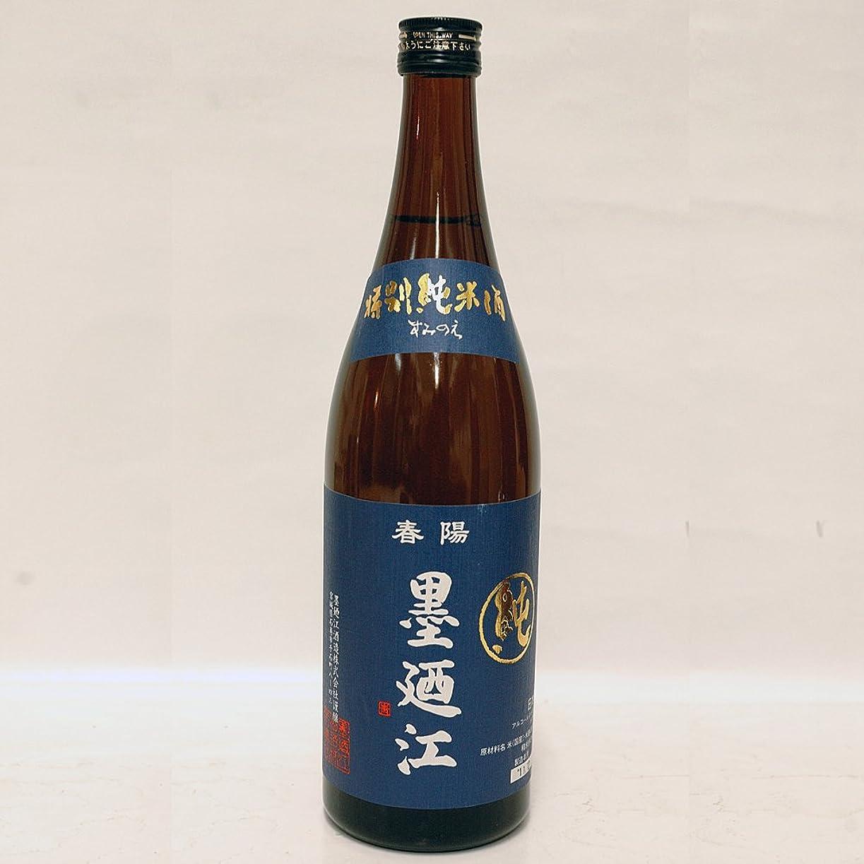 恥トランクヒギンズ宮城県 墨廼江酒造 墨廼江(すみのえ) 特別純米酒 720ml