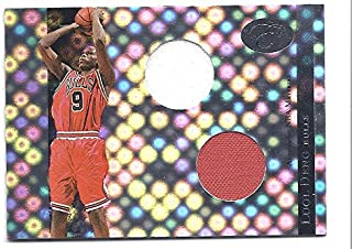 LUOL DENG 2006-07 Bowman Elevation Power Brokers Relics Dual #RLD DUAL GAME-USED JERSEY Card #08 of only 99 Made! Miami Heat Basketball