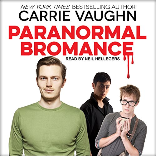 Paranormal Bromance audiobook cover art
