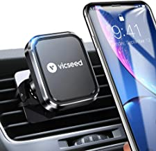 Magnetic Phone Car Mount, VICSEED 2019 Newest 6 Magnets Universal Car Phone Mount Air Vent Cell Phone Holder for Car, Magnet Car Mount Holder for iPhone 11 Pro Xs Max XR X Samsung Galaxy Note 10 etc.