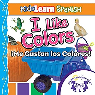 Kids Learn Spanish: I Like Colors (Colors) audiobook cover art