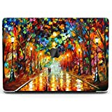 Wonder Wild Case for MacBook Air 13 inch Pro 15 2019 2018 Retina 12 11 Apple Hard Mac Protective Cover Touch Bar 2017 2016 2020 Plastic Laptop Print Farewell to Anger Oil Painting Trees Autumn Knife
