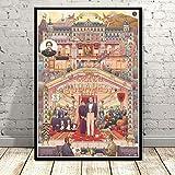 LGXINGLIyidian Poster Druckt Das Grand Budapest Hotel Film