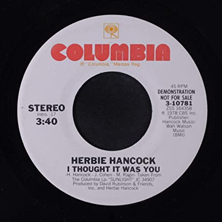 6804e338019f i thought it was you   no means yes 45 rpm single