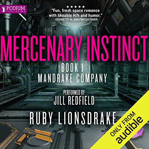 Mercenary Instinct audiobook cover art