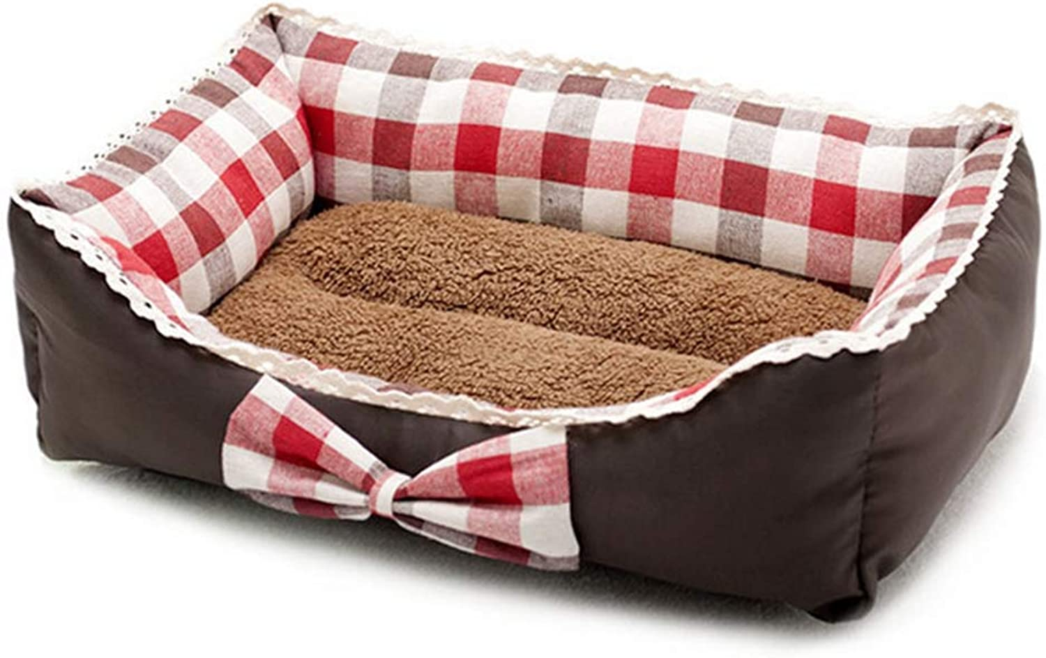 Jim Hugh Soft Warm Dog Beds Sofa Winter Dog Kennel for Small Medium Dogs Cushion Bench Pet Bed Mat Warm Pet Blanket