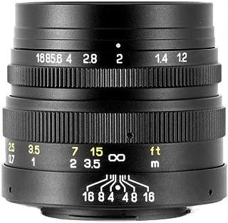 Mitakon 42.5mm f/1.2 (M43) Standard-Prime Lens for Micro Four Thirds MFT M43 Cameras