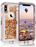 Coolden Heavy Duty Case for iPhone XS Max Case Glitter