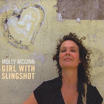 Girl With Slingshot