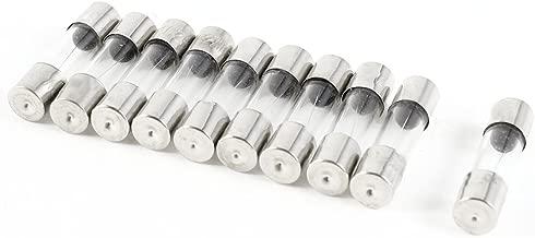 sourcingmap 30pcs 6x30mm Action Rapide action rapide Cylindre Tube En Verre Fusible 12A 250V