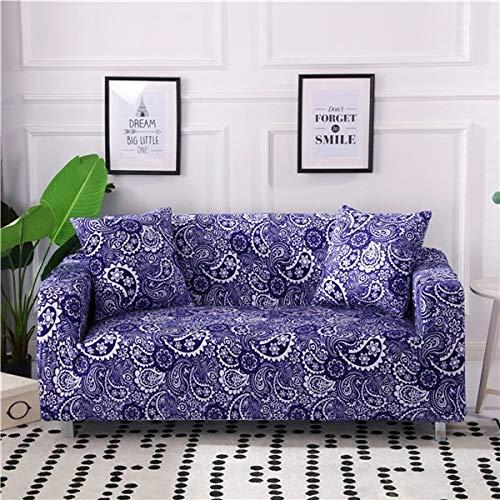 PPMP Funda elástica para sofá, Funda de sofá en Forma de L elástica, Funda de sofá seccional para Muebles de Sala de Estar, sillones A11, 2 plazas