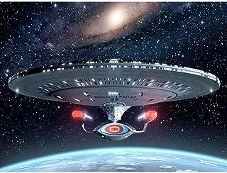キャンバスアート壁ポスター スタートレック宇宙船 海报 绘画 帆布艺术 室内装饰 壁挂 墙壁海报 HD时尚海报