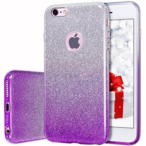purple jelly case iphone 6 - 1