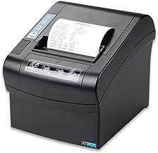 Atpos AT-502 80mm 3 Inch Thermal Receipt Printer | Auto Cutter | ESC POS Printing - Black