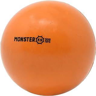 Indestructible Dog Ball - Lifetime Replacement Guarantee! - Tough Strong, 100% Non-Toxic Chew Toy, Natural Rubber Basebal...