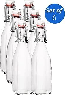 Bormioli Rocco Swing Top Bottles - 8.5 Ounce - Set of 6