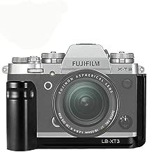 SoonTon L-Bracket Camera Quick Release QR Plate Grip Holder for Fuji XT3 Fujifilm X-T30 Grip Arca/RRS Compatible