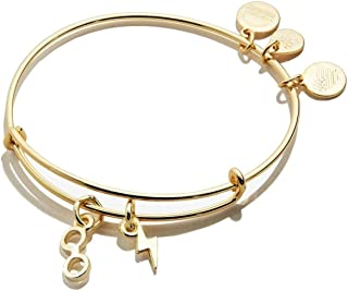 Alex and Ani Harry Potter - Glasses and Lightning Bolt Duo Charm Bangle SG