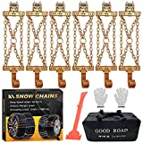 Best Snow Chains - Snow Chains, Tire Chains for Trucks Suvs, Cars Review