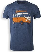 Volkswagen Retro Bus T-Shirt (XL) Navy