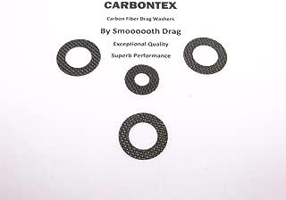 SHIMANO Reel Part Tekota 500 - (4) Smooth Drag Carbontex Drag Washers #SDS1