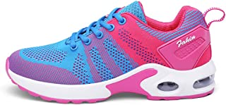 SKLT Breathable Mesh Running Shoes Women Trainers Sneakers Fly Weave Jogging Fitness Sport Shoes Ladies Air Cushion Sneakers