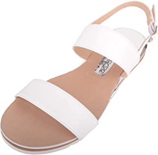 ABSOLUTE FOOTWEAR Womens Light Weight Strappy Holiday/Summer/Casual Sandals/Shoes