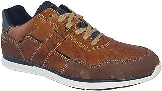 Lloyd & Pryce Mens Spunner Rich Umber Leather Shoes 9 UK