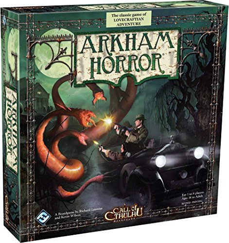 A Call of Cthulhu Boardgame, Arkham Horror: The Classic Game of Lovercraftian Adventure