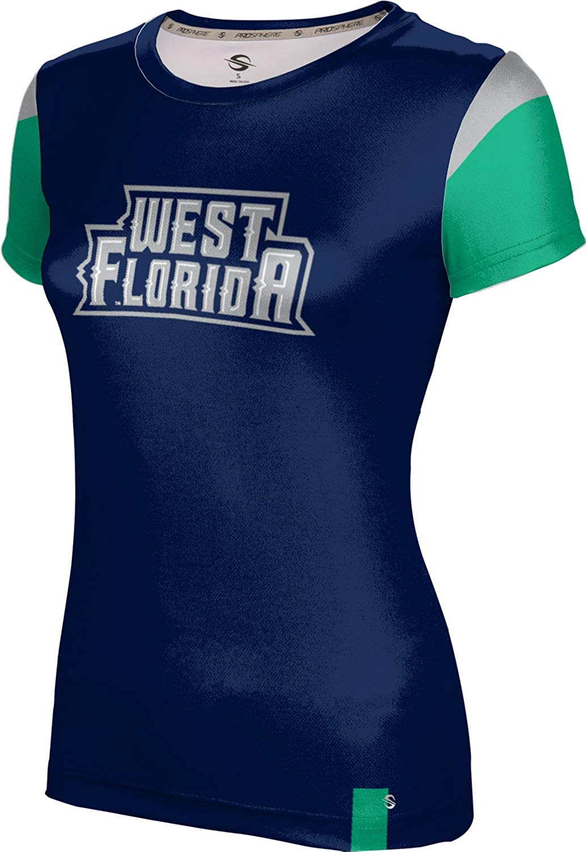 ProSphere University of West Florida Girls' Performance T-Shirt (Tailgate)