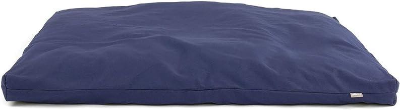 Zabuton Almofada De Meditação Quadrada Plana Zafu 80x80cm (Azul)