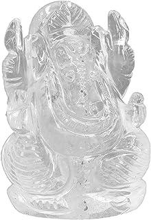 Ganesha 60 x 85 x 47 mm de cristal de roca